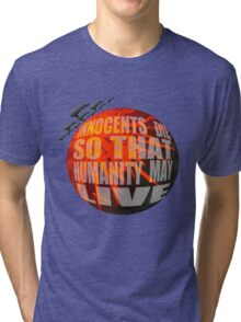 Exterminatus Quote Tri-blend T-Shirt