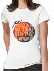 Exterminatus Quote Womens Fitted T-Shirt