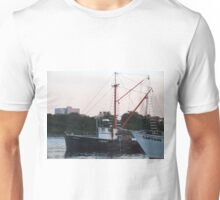 Galiee, rhode island fishing boats Unisex T-Shirt