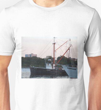 Galiee, rhode island fishing boats Unisex T-Shirt