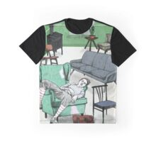 The Frenchman and his many chairs Graphic T-Shirt