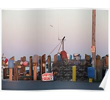 Galiee, rhode island dock Poster
