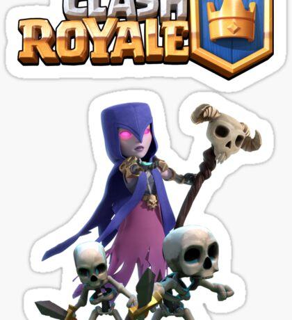 Clash Royale Witch Sticker