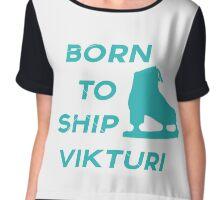 Born to Ship Vikturi Chiffon Top