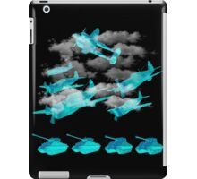 ww2 planes and tanks iPad Case/Skin