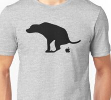 Dog Pooping Apples Unisex T-Shirt
