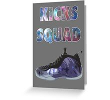 Shoe Game Greeting Card