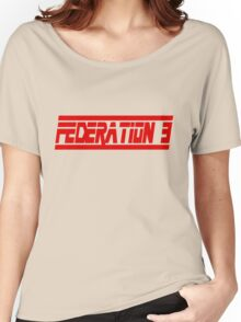 Federation 3 Font Women's Relaxed Fit T-Shirt