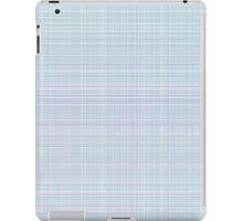 simple plaid seamless pastel pattern iPad Case/Skin