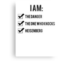 I Am: Breaking Bad Metal Print
