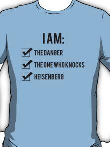 I Am: Breaking Bad T-Shirt