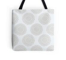 boho white flower seamless pattern Tote Bag