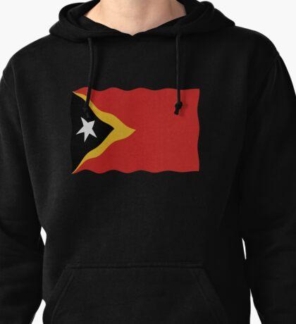 Timor-Leste flag Pullover Hoodie