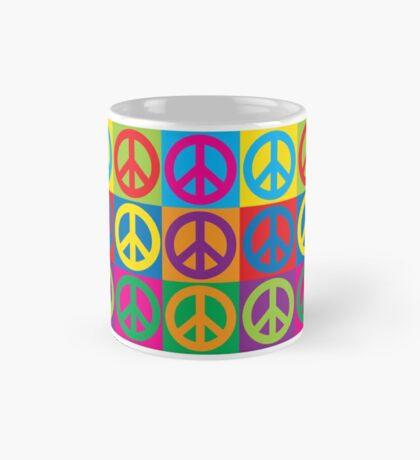 Pop Art Peace Symbols Mug