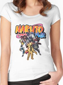 NARUTO SHIPPUDEN Women's Fitted Scoop T-Shirt