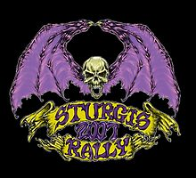 sturgis rally skullbat 2007 color by acidburnviper