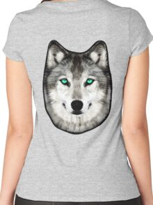 Dan Smith's Wolf hoodie Women's Fitted Scoop T-Shirt
