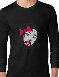 christ logo design cool text schriftzug jesus christus  Long Sleeve T-Shirt