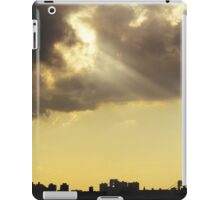 Clouds over New York City  iPad Case/Skin