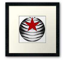 Soldier Star Framed Print