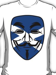 Anonymous Saltire T-Shirt