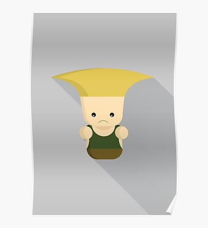 Guile - Street fighter Poster