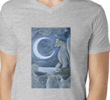 Halloween Art Nouveau Gargoyle Mens V-Neck T-Shirt