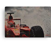 Forza Michael !!! Canvas Print