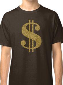 Gold Dollar Sign Classic T-Shirt