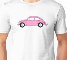 VW Beetle Pink Unisex T-Shirt