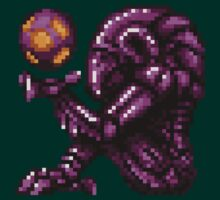 Super Metroid Pink Chozo by DukeJaywalker