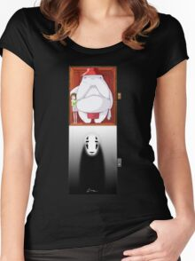Spirited Away - No Face Women's Fitted Scoop T-Shirt