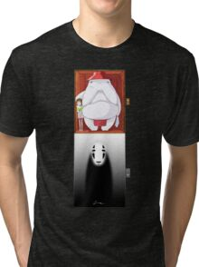 Spirited Away - No Face Tri-blend T-Shirt