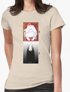 Spirited Away - No Face Womens Fitted T-Shirt