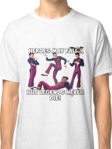 Robbie Rotten - Legends Never Die! Classic T-Shirt