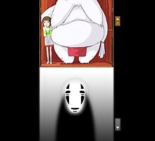 Spirited Away - No Face by Leamartes