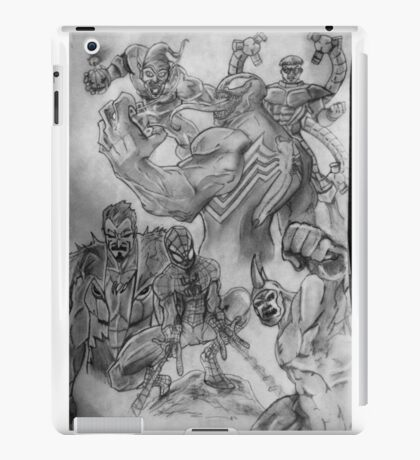 Spider-Man surrounded  iPad Case/Skin