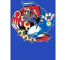 Primal Balance Omega Ruby & Alpha Sapphire T-shirt Photographic Print