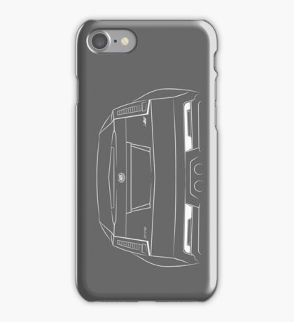 Cadillac CTS-V Back - Stencil iPhone Case/Skin