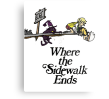 Soul Eater Where the sidewalk ends Metal Print