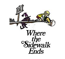 Soul Eater Where the sidewalk ends Photographic Print