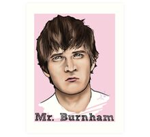 Mr. Burnham Art Print