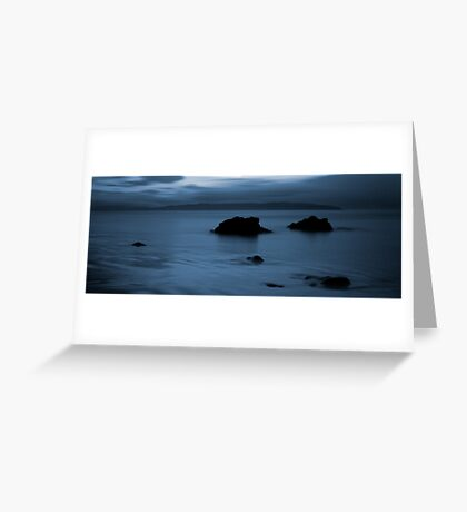 Donegal Blues Greeting Card