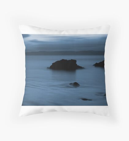 Donegal Blues Throw Pillow