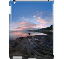 Dusk Shoreline near Moville, Donegal (Rectangular) iPad Case/Skin