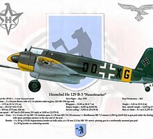 Henschel Hs 129 by A. Hermann
