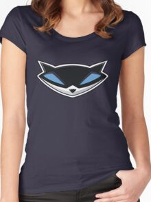 Sly Cooper Logo Women's Fitted Scoop T-Shirt