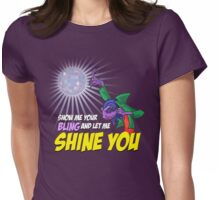 Show me your BLING Womens Fitted T-Shirt