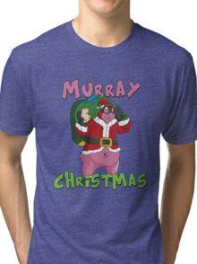 Murray Christmas Tri-blend T-Shirt