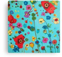 Bloom field Canvas Print